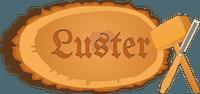 Luster sculture in legno Logo